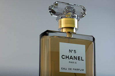 Chanel No 5 in 3D